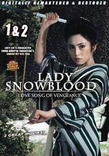 Lady Snowblood 1&2  - Hong Kong RARE Kung Fu Martial Arts Action movie - NEW DVD