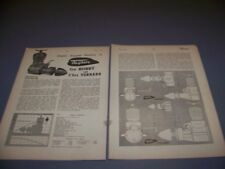 VINTAGE..TAIFUN HOBBY & TORNADO  R/C ENGINE..3-VIEWS/GRAPHS/SPECS..RARE! (651P)