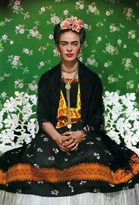 "FRIDA KAHLO 'Appearances Can Be Deceiving' Art Exhibition Poster 36"" x 24"" *NEW*"