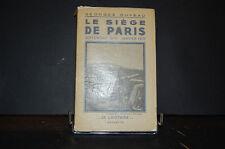 Le siège de paris ; Georges Duveau