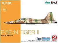 PLATZ 1/144 flying color selection F-5E / N Tiger II 2 aircraft set plastic mode