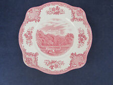 SET OF FOUR - Johnson Bros OLD BRITAIN CASTLES Square Plates
