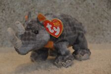 Ty Beanie Baby ~ Nami the Wwf Rhino ~ Internet Exclusive ~ Mwmt