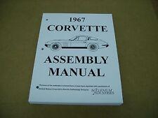 1967 67 Chevrolet Chevy Corvette car assembly instruction manual