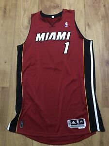Chris Bosh Miami Heat Authentic Team Issued Rev30 Jersey NBA Mesh