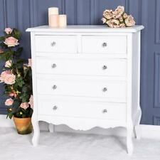 2bbaf10d6d4 White Chest Of Drawers Storage Ornate Bedroom Furniture French Chic Home  Wood