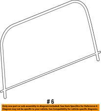 Jeep CHRYSLER OEM 11-15 Wrangler-Rear Window Back Glass 5SQ94SX9AA