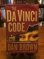 The Da Vinci Code by Dan Brown (Robert Langdon Series) Vg Condition - Hc