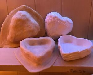 2 xLatex Moulds for making this lovely Angel wing dish with lid