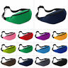 Bum Bag Fanny Pack Pouch Travel Waist Belt Leather Holiday Money Sports Zip Bags