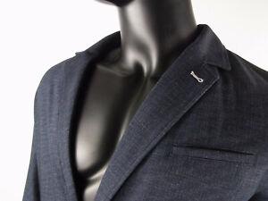 Herren Sakko Männer Sakko Signum Jeans Blau Größe 54