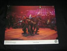 RARE Original TEENAGE MUTANT NINJA TURTLES II Lobby Card  #5