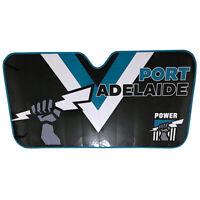 AFL Car Windshield Sunvisor Sun Shade - Port Adelaide Power - BNWT