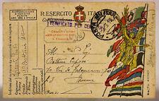 POSTA MILITARE 78 FRANCHIGIA 3.3.1919 #XP421N