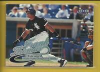 Frank Thomas 1999 Fleer Ultra Card # 64 Chicago White Sox Baseball MLB HOF