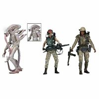 "NECA Aliens Series 9  Vasquez Albino Frost Action Figure 7"" New"
