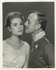 """GRACE KELLY & ALEC GUINNESS in """"The Swan"""" Original Vintage Photograph 1956"""