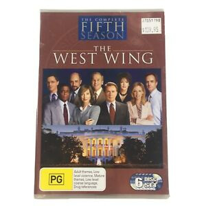 The West Wing Season 5 DVD 6-Disc Set NEW SEALED