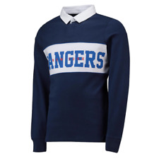 New York Rangers Shirt (Size S) Men's NHL Cut And Sew Rugby Shirt - New