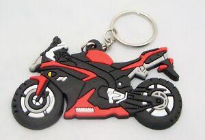 Red Yamaha R1 Rubber Keyring