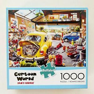 Buffalo Games Cartoon World 1000 Piece Jigsaw Puzzle Sam's Garage