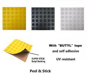 Peel & Stick Tactile Indicator Pad Indicator ground surface Self Adhesive Pad