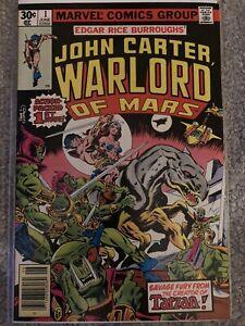 John Carter Warlord Of Mars #1 - 9.0 VF/NM - Gil Kane cover & art