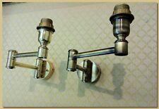 Applique, lampada da Muro,Ottone bronzato, Mod. Doppio Snodo articolo AP/304