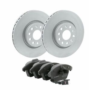 Bosch Front Brake Kit 312mm BD997 fits Skoda OCTAVIA III 1Z3 2.0 FSI 2.0 RS