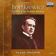 Klaas Trapman - Bortkiewicz: Complete Piano Music (NEW 6CD)