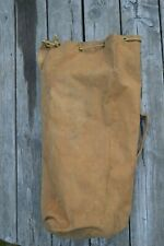 WWII Canadian Military Duffle Kit Canvas Bag 1944 Canada