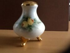 Antique Bavaria porcelain hand painted salt/ pepper shaker