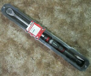 "Craftsman 1/2"" Drive Digi-Click Digital Torque Wrench 25-250 ft.lbs Metric LED"