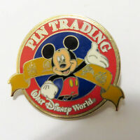 Disney Mickey WDW Pin Trading Logo Pin