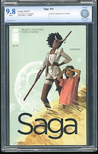 Saga #14 Image Comics CBCS 9.8, Not CGC, Art & Cover by Fiona Staples