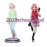 Anime Naruto Shippuden Sexy Haruno Sakura Action Figure Collection Kids Gift Toy
