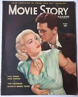 Movie Story Magazine 1946 Lana Turner, The Postman Always Rings Twice