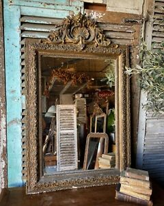Vintage French Louis Philippe Gilt mirror