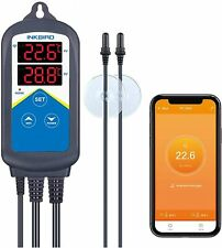 New listing Inkbird Tank Temperature Controller WiFi Remote 306A Reptiles Overheating Alarm