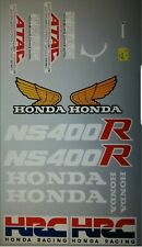 HONDA NS400R HRC DECAL KIT