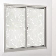 [casa.pro]® Sichtschutzfolie Milchglas Bambus - 100 cm x 1 m - statisch Fenster