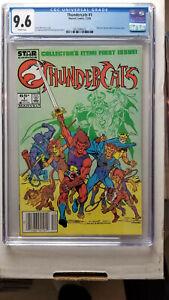 Thundercats #1 CGC 9.6 NM+  WHITE Newstand   Star Comics