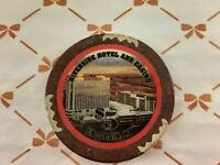 RIVERSIDE CASINO LAUGHLIN NEVADA $5 CHIP PHOTO OF DON LAUGHLIN