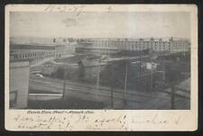 Postcard NEWARK Ohio/OH  Wehrle Stove Factory/Plant Bird's Eye Aeral view 1906