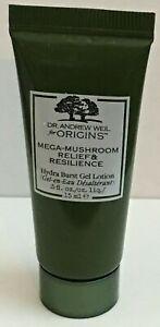 ORIGINS Mega Mushroom Relief & Resilience Soothing Cream Gel Lotion .5 oz U Pick