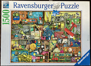 Cling Clang Clatter 1500 Piece Jigsaw Puzzle From Ravensburger No. 16361