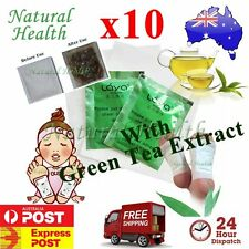 10 Detox Foot Pad Patch KINOKI Herbal Weight loss toxin remove Green Tea Extract