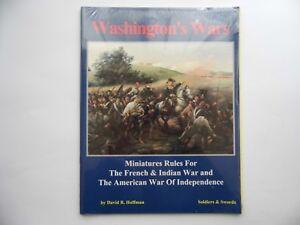 WASHINGTON'S WARS - WARGAMES RULES - NEW SEALED