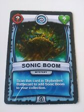 Skylanders Battlecast Collector's Card Mystery Sonic Boom