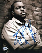 ICE CUBE SIGNED 8x10 PHOTO N.W.A. RAPPER FRIDAY ARE WE THERE YET? BECKETT BAS